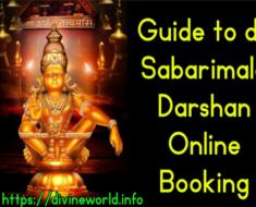 Guide to Book Sabarimala Darshan Online