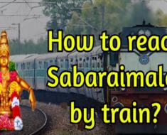 How to reach Sabaraimala by train