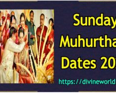Sunday Vivah Shubh Muhurat Dates 2021