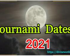 Pournami Dates 2021